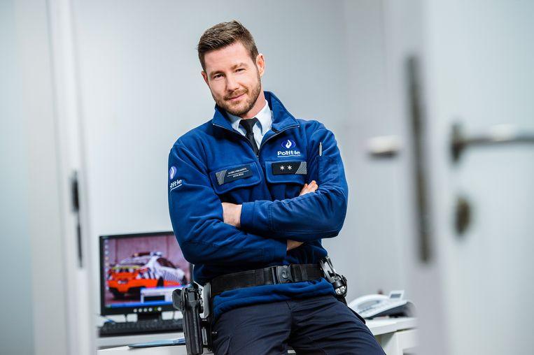 Henny Seroeyen speelt in 'De Buurtpoliei' de rol van inspecteur Robin Verhaegen.