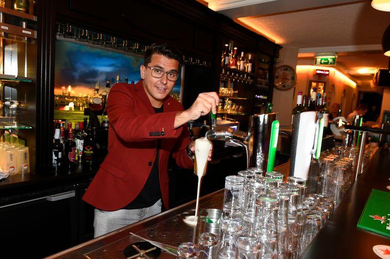 Jan Smit in zijn restaurant Lotje in Volendam.  Beeld Gerrit-Jan Ek