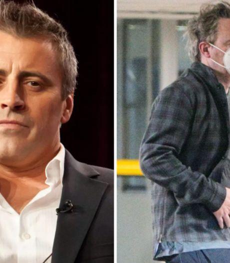 """Matt LeBlanc et Matthew Perry priés de faire régime pour le retour de """"Friends"""""""