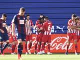 Atlético Madrid wint krap bij Eibar