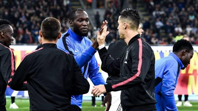Cristiano versus Romelu, de twee strafste schutters van Italië lijnrecht tegenover elkaar. En zeggen dat ze ooit bijna ploegmaats waren