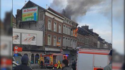 Explosie in woning in centrum van Luik