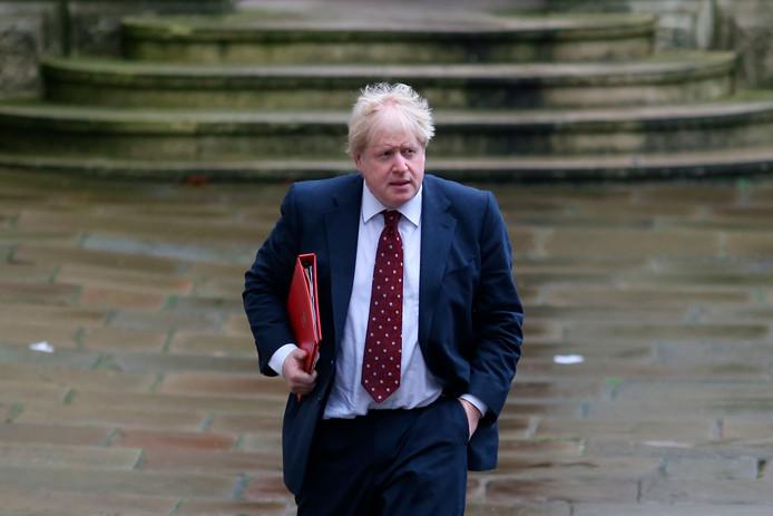 Boris Johnson in 2017.