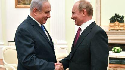 Netanyahu en Poetin oneens over verantwoordelijkheid neergehaald Russisch vliegtuig