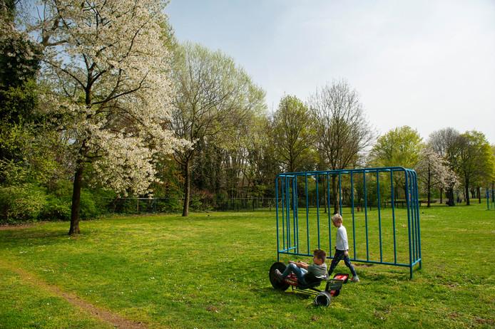 Den Bosch. Het Annapark in Hintham 's-Hertogenbosch