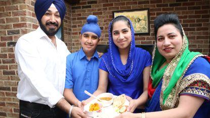 Jaspreet Kaur maakt Langar voor honderden eetlustigen