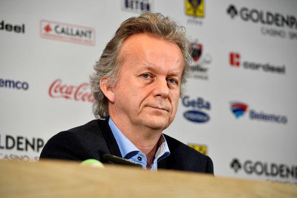 STVV-voorzitter David Meekers.