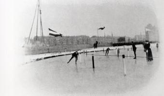 Een enkele tastbare herinnering aan het historische WK allround van 1893