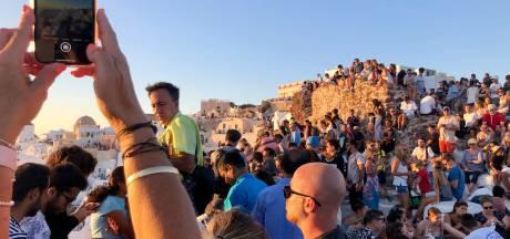 Woeste Michalis schoot drone uit de lucht: Santorini moet grenzen stellen