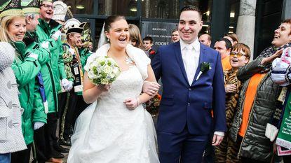 Keizerlijk huwelijk in Wetteren