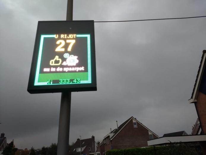 In de Sikkel in Hasselt is een zogenaamde Safety-safe geplaatst. Iedereen die zich aan de snelheid houdt zorgt voor geld in de buurtpot.