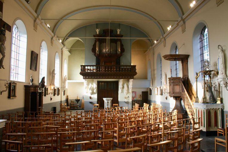 De expo vindt plaats in de kerk van Dikkele