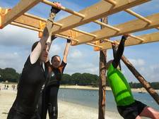E3-strand Eersel toneel van obstacle run