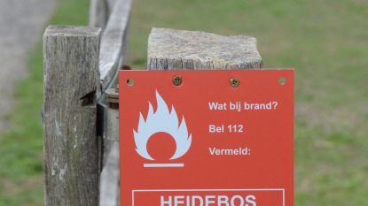 """Brandfase oranje in Oost-Vlaanderen: """"Meest kwetsbare gebieden in Moerbeke en Stekene"""""""
