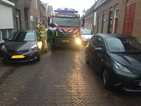 Pech-Sint geassisteerd door brandweer, politie én dierenambulance