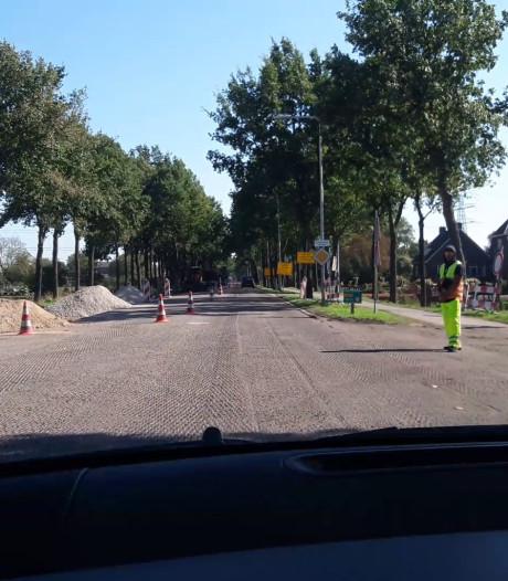 N225 tussen Amerongen en Leersum dicht vanwege nieuw asfalt