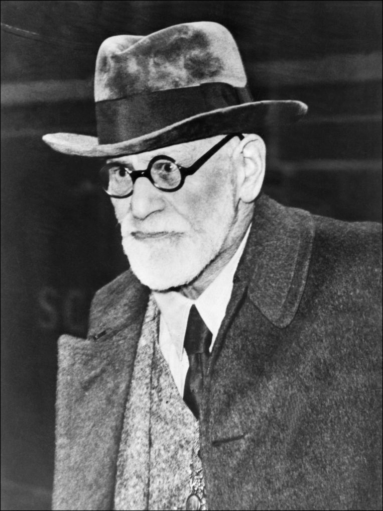 Sigmund Freud in 1938. Beeld afp