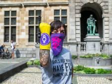 """Antwerpse actie voor versoepeling abortuswet en tegen De Wever: """"Laat parlement gewoon stémmen"""""""