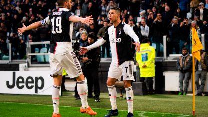 Cristiano Ronaldo begint 2020 met hattrick tegen Nainggolan en co
