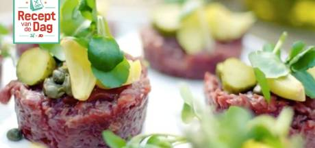 Steak Tartare met frietjes
