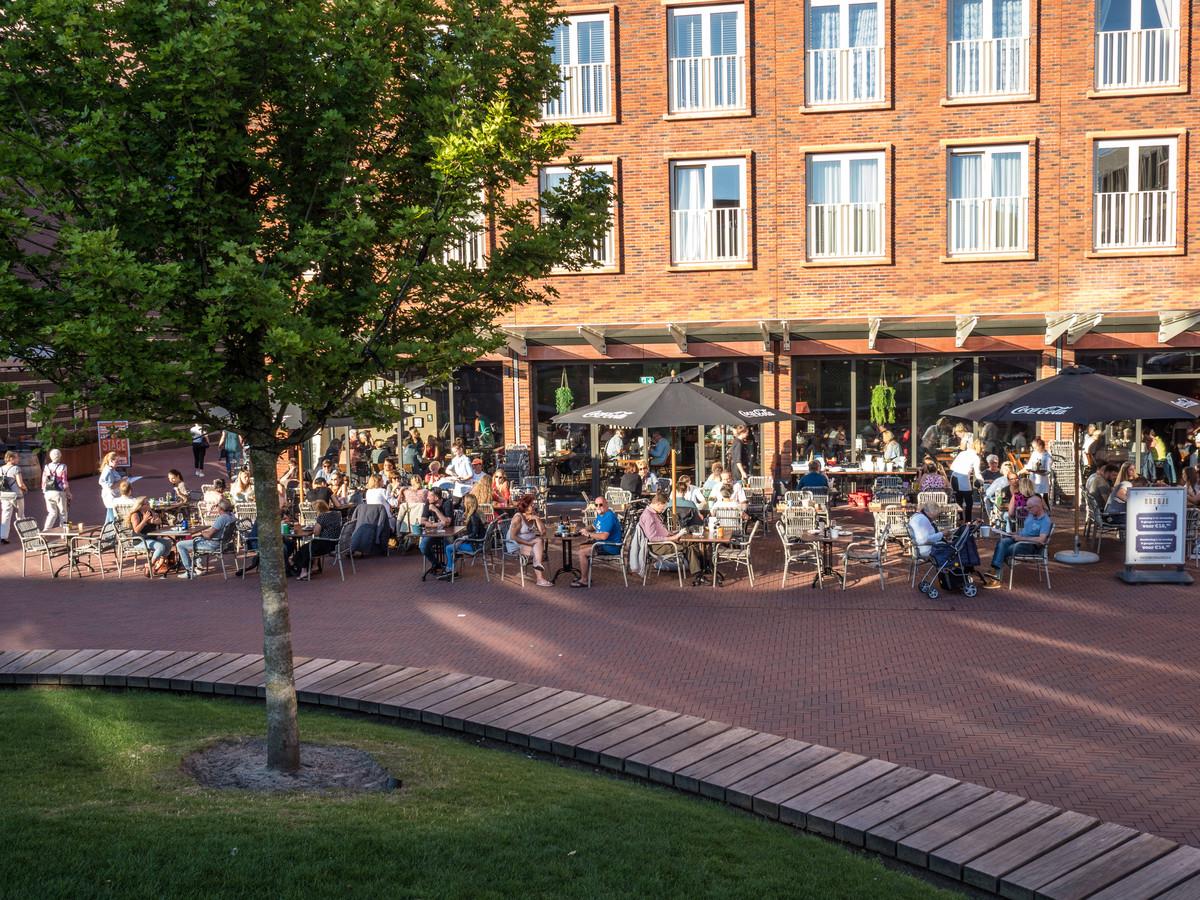 Candenzaplein in Zoetermeer. Foto ter illustratie.