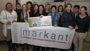 Markant schenkt 250 euro aan goede doel