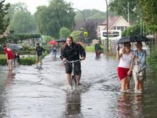 Wateroverlast Nunspeterweg Elspeet binnenkort voorbij