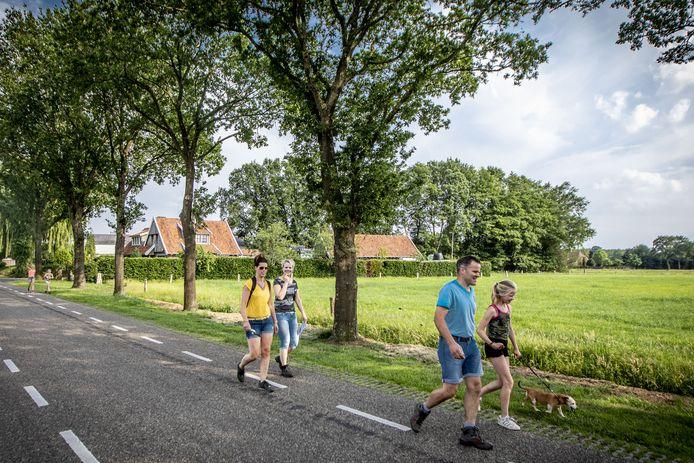 De Wandeldriedaagse in Manderveen kan alsnog doorgaan nadat er maatregelen zijn getroffen.