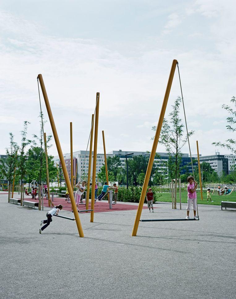 Rudolf-Bednar-Park, Wenen. Beeld Rupert Steiner / Hager