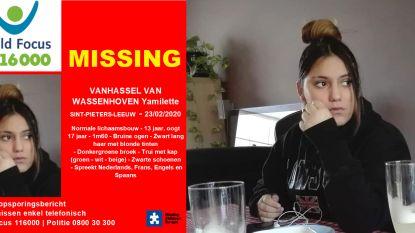 """Yamilette (13) voor de 14de (!) keer vermist nadat ze wegliep: """"Ze werd zondagnacht het laatst gezien tijdens Aalst Carnaval"""""""