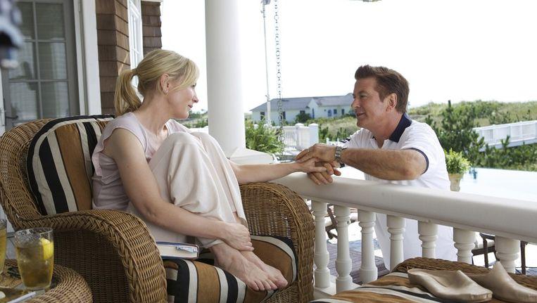 Cate Blanchett en Alec Baldwin in Blue Jasmine Beeld Filmdepot