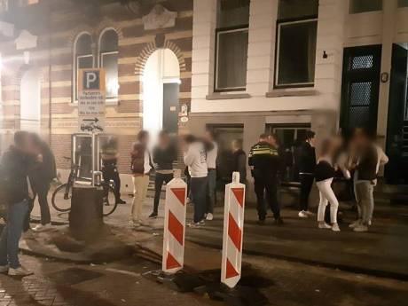 Politie breekt opnieuw Rotterdams studentenfeest af: 'We zijn boos en teleurgesteld'