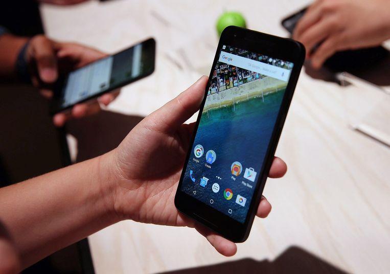 De nieuwe Nexus 5X Beeld afp