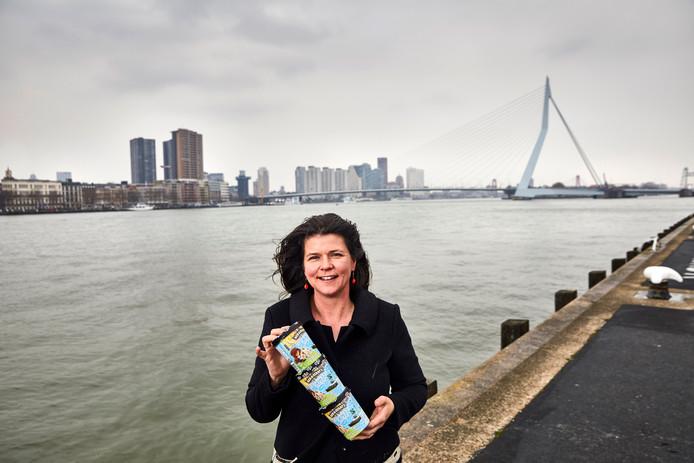 IJsmerk Ben & Jerry's promoot komend jaar vrijwilligerswerk in Rotterdam, vertelt directeur Lilian Geijsen.