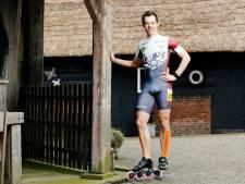 Marc Middelkoop mag hopen op NK inline-skaten