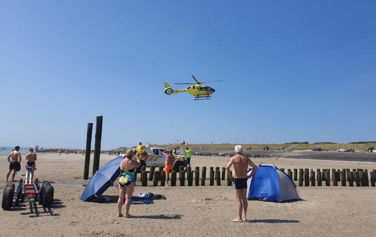 Het ongeluk gebeurde rond 15.15 uur. Meerdere hulpdiensten, waaronder een traumahelikopter, kwamen ter plaatse.