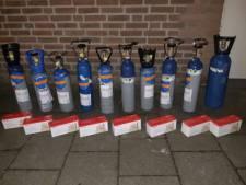 Man uit Beuningen gesnapt bij politiecontrole met 20 kilo lachgas in de auto