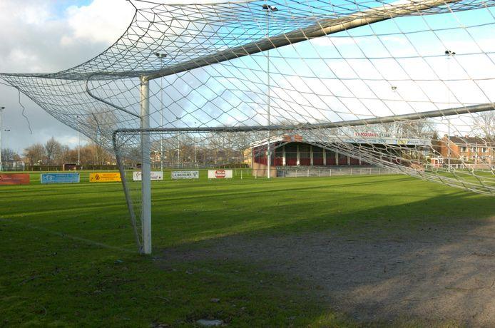 Het veld van voetbalvereniging Bodegraven.