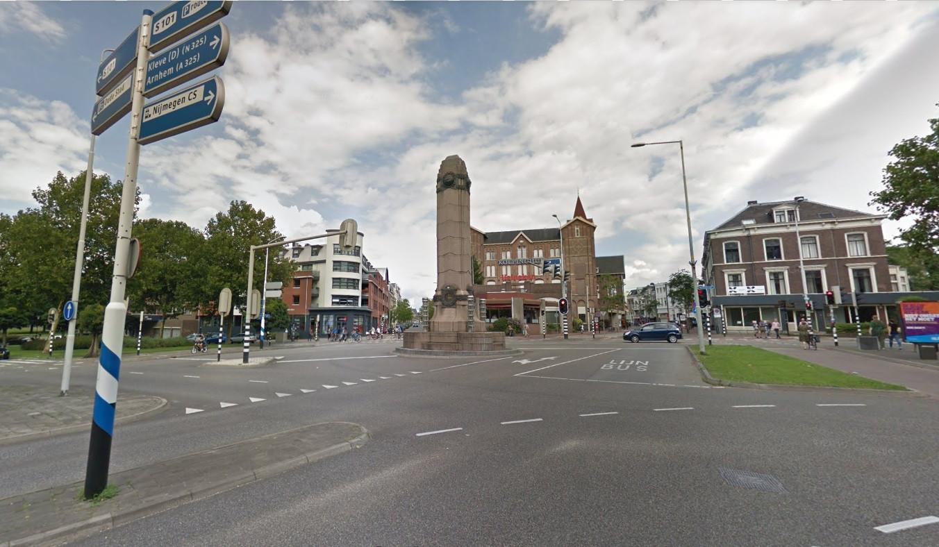 Het Quackplein in Nijmegen.