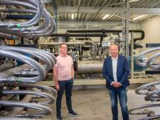 Gas van koeienmest van Bio Energie Centrale Harderwijk stroomt rechtstreeks bij huishoudens binnen