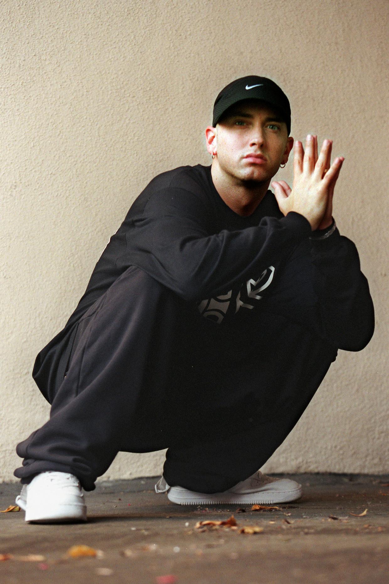 Eminem Beeld Getty Images