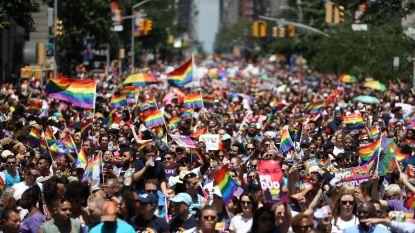 3 miljoen mensen op Gay Pride in New York voor 50 jaar Stonewall