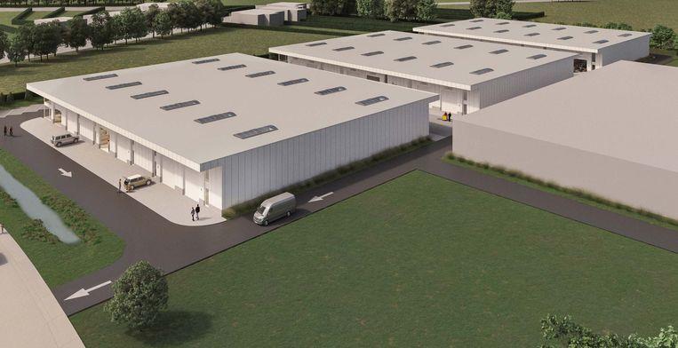 Het nieuwe bedrijventerrein moet kmo's nieuwe kansen bieden in Lubbeek.