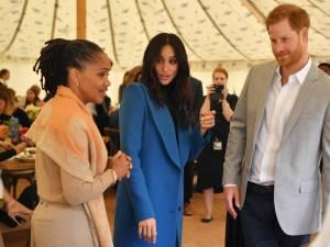 'Moeder Meghan Markle in Londen aangekomen'