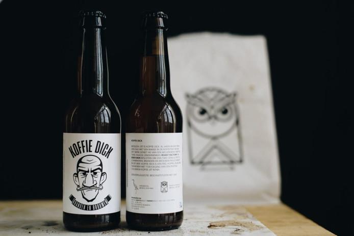 Het nieuwe bier van Eiber Bier: Koffie Dick.