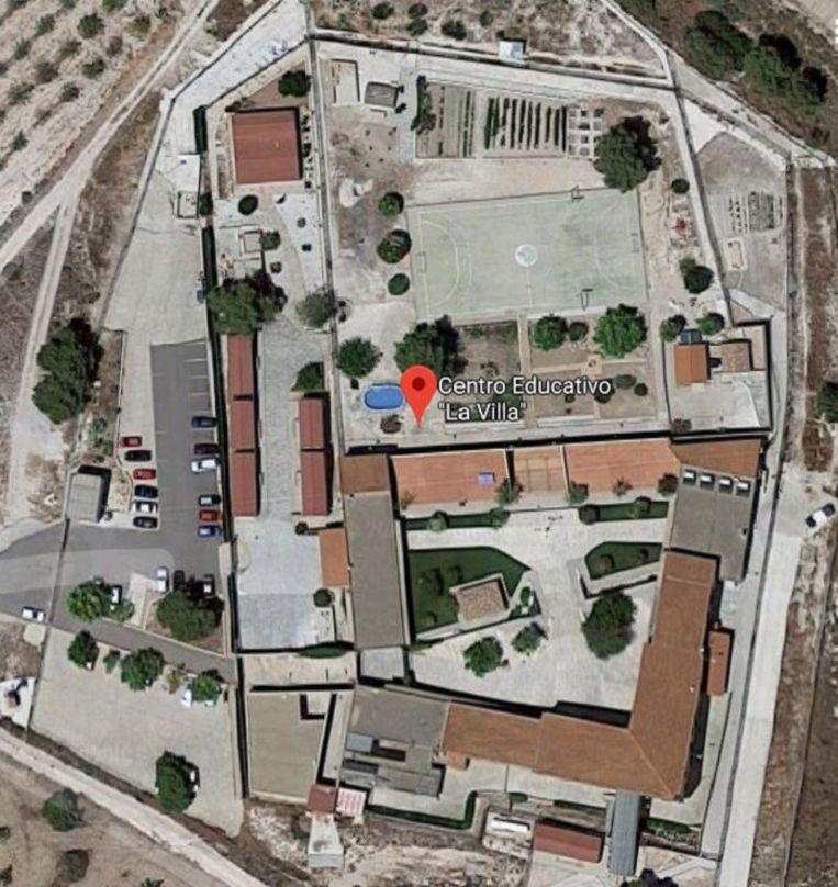 Het heropvoedingscentrum bij Alicante waar Charly T. al bijna vijf maanden vastzit.