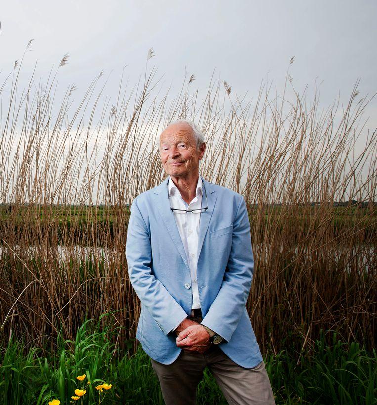 Schrijver Guus Kuijer in 2016. Beeld Hollandse Hoogte / Olaf Kraak