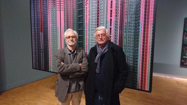 Jean Cloos (links) en Leonard Smulders Beeld null