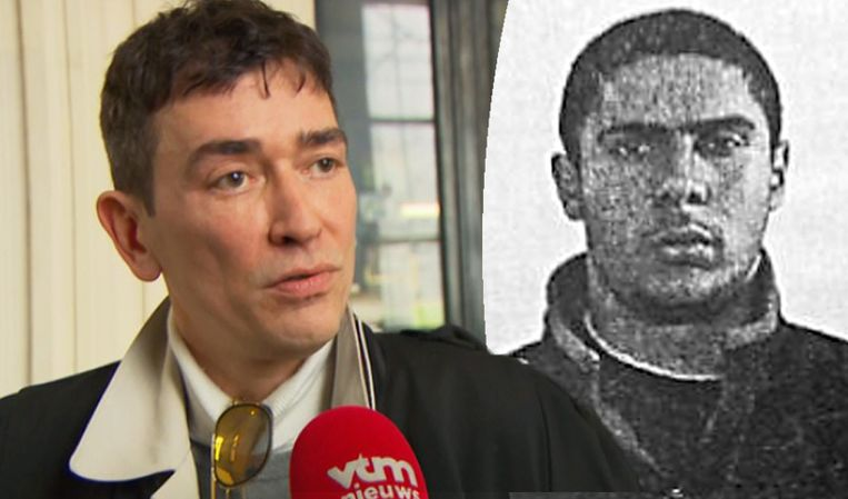 Links: advocaat Sébastien Courtoy. Rechts: Mehdi Nemmouche.