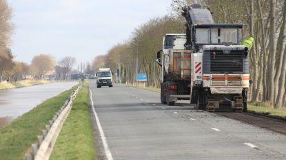 Vaartdijk-Zuid vier weken afgesloten door wegenwerken